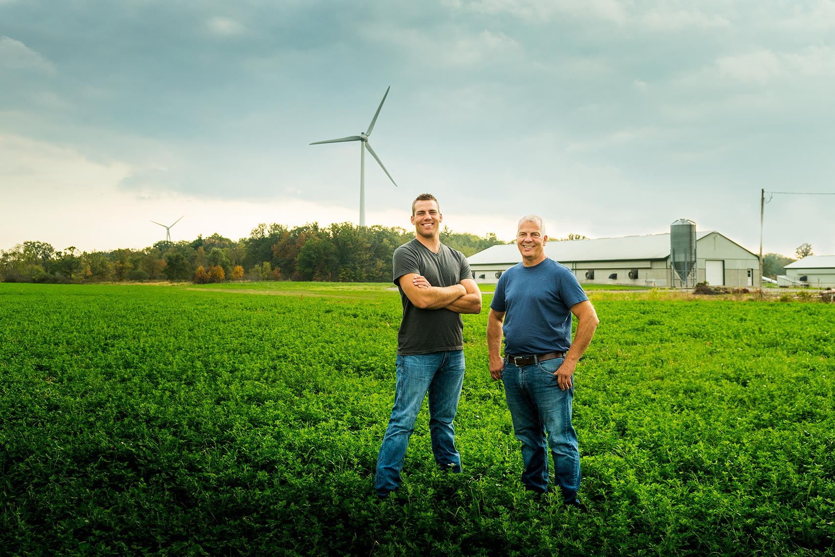 Farming and rural photographer Dean Casavechia